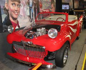 Greased Lightning Car Grease Live Volo Auto Museum Car Of Tv And The Robot S