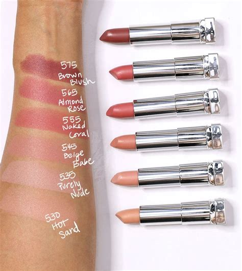 Lipstik Maybelline Color Sensational Moisture Lipstick best 25 maybelline lipstick ideas on