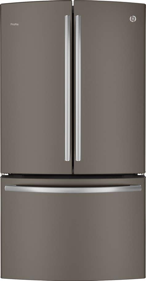 ge slate refrigerator pwe23kmdes ge profile series 23 1 cu ft counter depth
