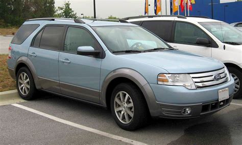 how does cars work 2008 ford taurus x auto manual file 2008 ford taurus x sel jpg wikimedia commons
