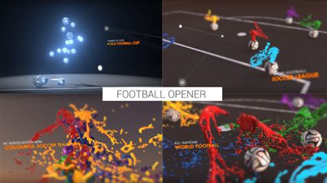 after effects templates free soccer videohive colourful football opener after effects