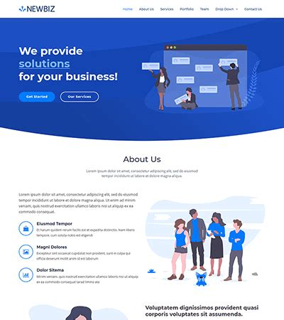 Free Bootstrap Themes And Website Templates Bootstrapmade Modern Bootstrap Templates