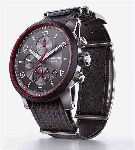 montblanc timewalker speed e turns a timepiece