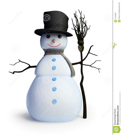 House Plan 3d snowman royalty free stock photography image 11979567