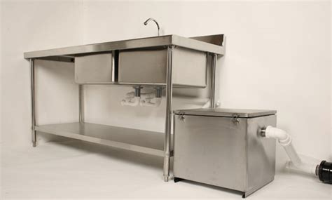 grease trap clearflow stainless steel budget grease traps