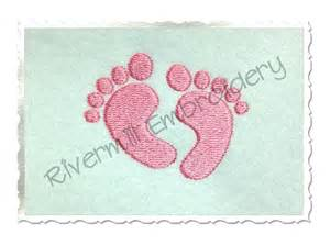 machine embroidery designs for baby baby footprints machine embroidery design
