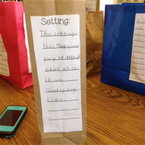 paper bag book report exles polka dot firsties paper bag book report k 2