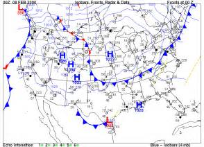 weather maps surface weather maps exercise