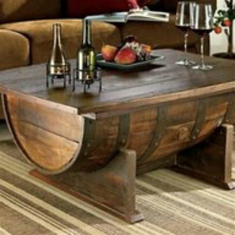 Half Barrel Table by Half Barrel Table Things I