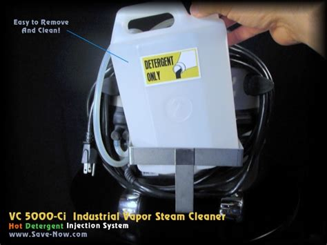 Nx 5000 Injection Cleaner 5000 ci chemical injected industrial vapor steam cleaner 1800 watts 72 psi