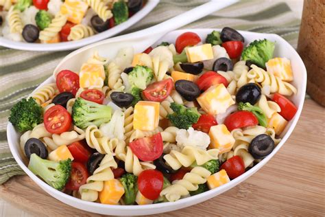 tasty pasta salad three delicious pasta salad recipes tips hair care