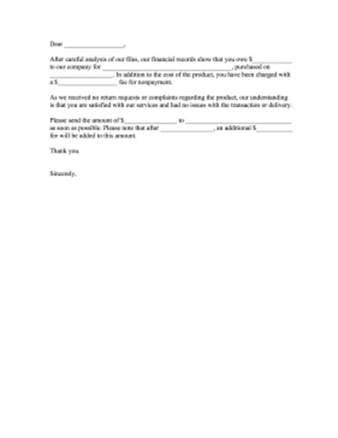 Complaint Letter To Customer For Non Payment Non Payment Complaint Letter