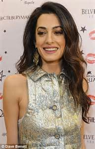 is amal clooney hair one length wonder how amal clooney can go from short to long hair