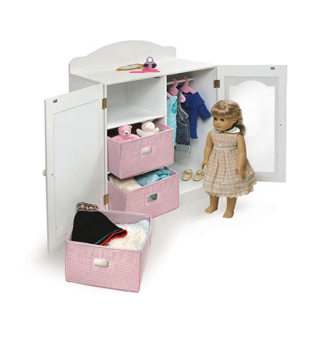 badger basket armoire heirloom doll furniture set ojcommerce