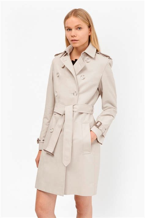 Cotton Trench Coat freeway cotton belted trench coat collections