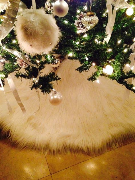 white furry fluffy christmas trees 1000 ideas about fur tree on faux fur tree skirt tree skirts and cards uk
