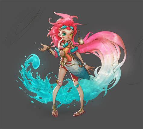 Zoe League Of Legends 3d Model