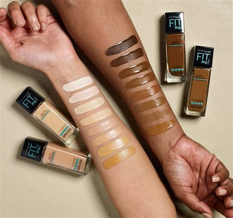 Maybelline Fit Me Foundation Review maybelline fit me foundation now comes in 16 new shades
