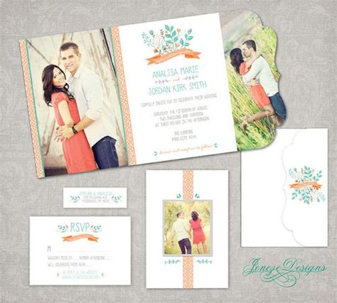Folded Invitation Cards Templates by Wedding Invitation Boutique Tri Folded Design Template