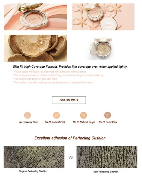 Sulwhasoo Perfecting Cushion Spf50 Pa Shade 21 sulwhasoo new perfecting cushion spf50 pa refill