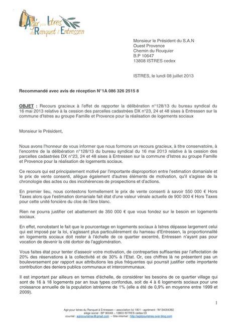 Redaction D Une Lettre De Recours Pour Refus De Visa Francais Les De Lettre De Recours Gracieux