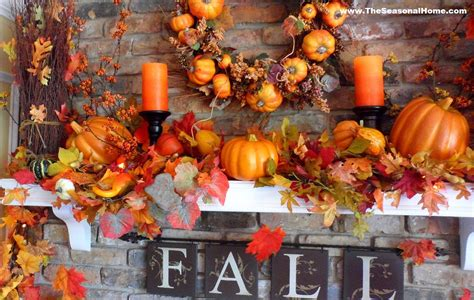 harvest decoration ideas for thanksgiving home interior farewell summer hello fall
