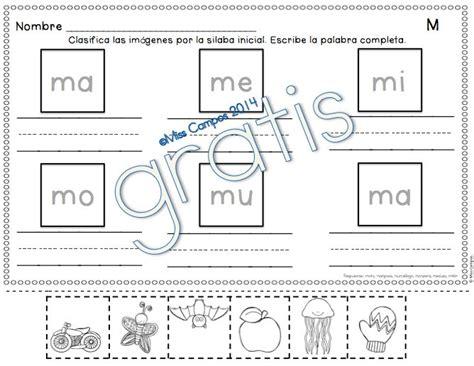 las silabas en espanol para ninos 56 b 228 sta bilderna om lectura p 229 pinterest l 228 rare