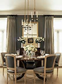 Gray Dining Room Gray Rooms Dining Room Bhg