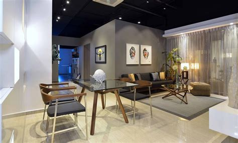 urban modern interior design residential interior showroom evoking an urban feel life