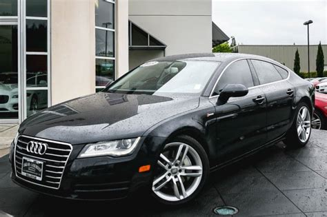 Certified Pre Owned Audi A7 by Pre Owned 2013 Audi A7 3 0 Premium Plus Hatchback In