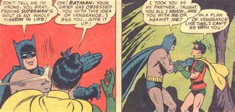 Batman Slapping Robin Meme - the original batman slapping robin meme