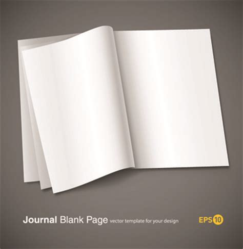 Design Journal Blank | cover page design template free vector download 13 425