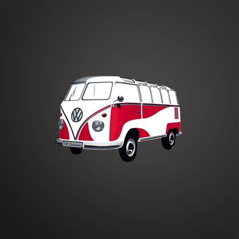 volkswagen cer pink vw wall stickers vw t1 wall sticker red or flower bus by