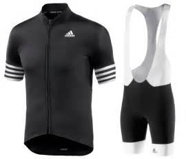 mens cycling 2016 adids aero mens black cycling jersey and bib shorts set