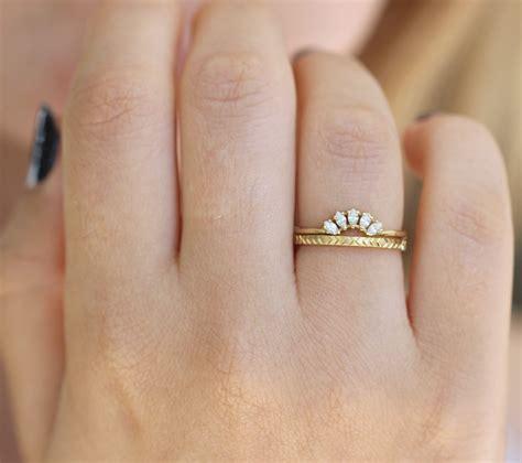 pattern gold wedding band geometric wedding ring pattern gold ring artemer