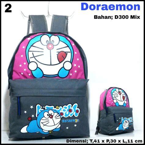 Tas Paketan Ransel Doraemon jual tas ransel doraemon 02 tas karakter tas sekolah