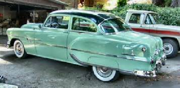 53 Pontiac Chieftain For Sale 1953 Pontiac Chieftain Deluxe 2 Door Post Coupe