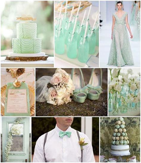 mint green wedding inspiration weddbook