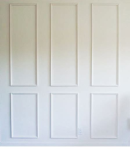 White Paneling For Bathroom Walls - six piece raised moulding kit for walls get the custom high end look traditional molding