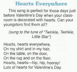 play the valentines song 27 best literacy songs fingerplay images on
