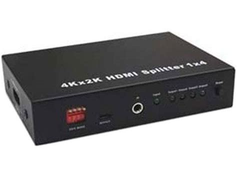 Hdmi Splitter 1 4 E33 4 way hdmi splitter