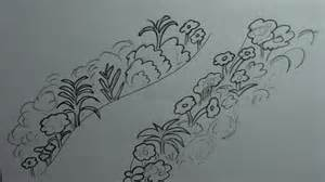 How To Draw A Garden With Flowers How To Draw A Garden