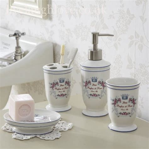 coordinated bathroom accessories bathroom accessories 176 176 176 shabby chic 176 176 176