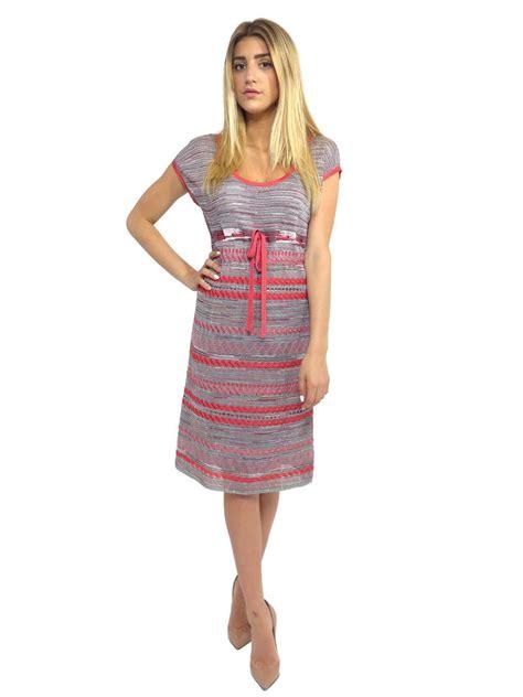 Dress Terusan Knit Sabrina Du pre owned m missoni printed shimmer knit dress sabrina s closet