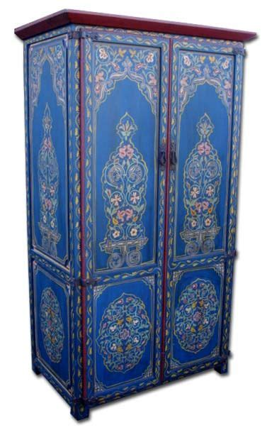 painted wardrobe armoire 25 best ideas about moroccan furniture on pinterest indian inspired bedroom indian