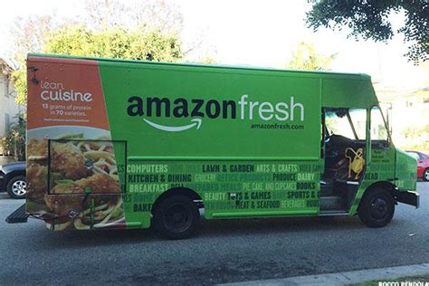 giants unveil fresh food and amzn planning to unveil new grocery delivery