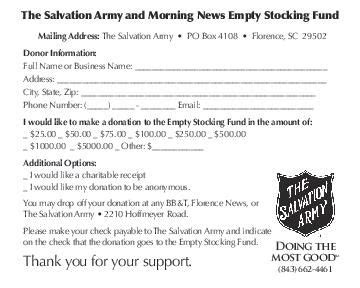 salvation army receipt template salvation army donation form scnow
