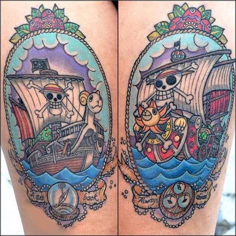 one piece tattoo by ester mazzucchelli one tattoos