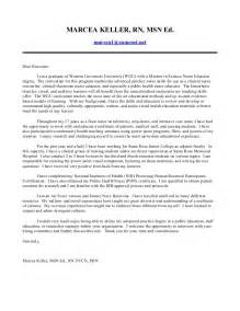 Nurse Educator Cover Letter 2014