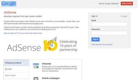 adsense account login i will give you 100 approve google adsense account for 10